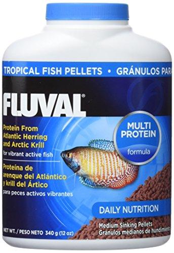 Alimento de la marca Fluval para peces